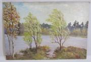 Картина «Пейзаж Осень» СССР №6323
