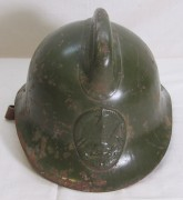 Шлем, каска пожарного старинный СССР №6426