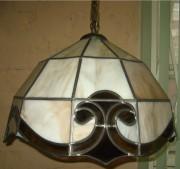 Люстра витражная в стиле Тиффани, Европа 20 век №121