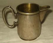 Сливочник старинный, серебрение, Fraget Варшава 19 век №44
