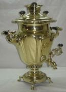 Самовар «рюмка» старинный, на 4 литра, Н.А. Воронцов №372