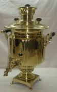 Самовар старинный «фонарь», на 6 литров, В.М. Гудков №353