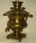 Самовар угольный старинный «ваза», на 3 литра, Россия 19 век №284