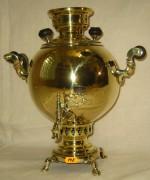 Самовар старинный «шар», на 2,5 литра №148