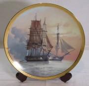 Панно, тарелка коллекционная «Корабль»Derek Gardner 1986 год №6757