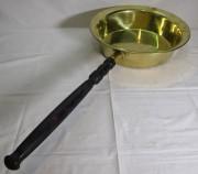 Таз латунный, тазик с ручкой, на 5 л, «Кольчугино» №6834