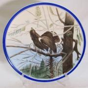 Тарелка настенная, панно «Птица» СССР №6875