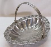 Конфетница старинная, сухарница, вазочка «Fraget» Варшава 19 век №6904