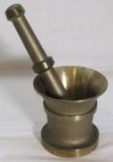 Ступа бронзовая, ступка с пестиком, СССР №7056