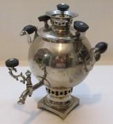 Самовар старинный эгоист «шар», на 0,6 л, «Романов» №1371