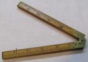 Линейка старинная, метр, Англия начало 20 века №7275