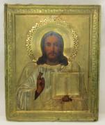 Икона старинная «Вседержитель» 19 век №7279