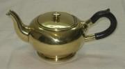 Заварочный чайник старинный, латунь, Германия, начало 20 века №1453