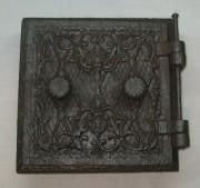 Дверца печная, чугунная, Россия 19 век №1524