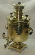Самовар угольный «банка», на 7 литров, Е. Ваныкина №503