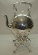 Бульотка старинная на 5 литров, серебрение, «Norblin» Варшава 19 век №1585