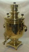 Самовар «банка» на 8 литров, царский с медалями, «Шапошниковъ» №528