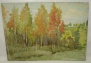 Картина «Осенний лес», в стиле Левитана №1643