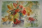 Картина «Натюрморт с рябиной» Рахманина Н.С. 2000 год №1648