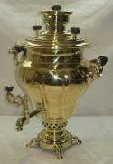 Самовар угольный «груша» на 6 литров, «В.М. Гудковъ» Россия 19 век №533