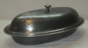Баранчик старинный большой, серебрение, «Fraget» Варшава 19 век №1741