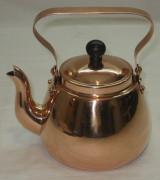 Чайник из меди, небольшой, Финляндия 20 век №1752