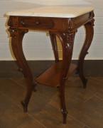 Стол самоварный, с мраморной столешницей, в стиле барокко №1759
