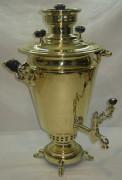 Самовар угольный «рюмка» на 4,5 литра, «ГМЗ в Кольчугино» 1920-е годы №545