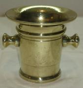 Ступа, ступка из бронзы, 19 век №1813