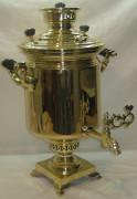 Самовар на дровах «банка», большой, 9 литров, «ТулМетПром» Россия 1920-е годы №549