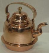 Чайник медный на 1,5 литра, Швеция 20 век №1913