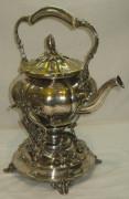 Бульотка старинная, объем 1,7 литра, серебрение, фабрика «Кристофль» Франция 19 век №1926