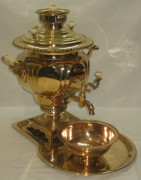 Самовар «ваза», томпаковый, на 4,5 литра, Воронцов 19 век №158