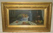 Картина «натюрморт», масло, «Акилов А. 1977» №1693