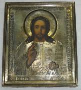 Икона «Господь Вседержитель», без реставрации, Россия 19 век №1963
