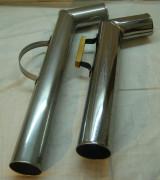Труба для самовар, из нержавейки №861