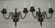 Бра парные настенные  на 4 лампы, 20 век №3488