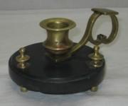 Подсвечник старинный, ночник, мрамор, 19-20 век №3668