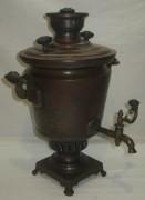 Самовар старинный «бокал», томпак, «М. Маликов» 19 век №940